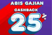 Promo Matahari Cashback OVO HABIS GAJIAN 25-29 Februari 2020