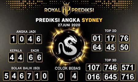 Royal Prediksi Sydney Sabtu