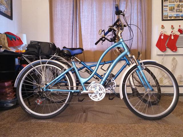 """Jo's Bike as a """"Comfort Bike Style""""!"""