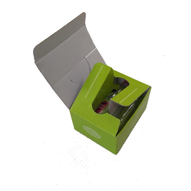 3S la nuova scatola per bottiglie di vino e di birra