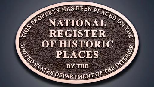 The National Register of Historic Places (NRHP), logo, emblem