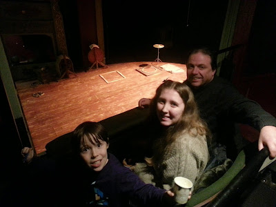 Sitting in the Box at the Bristol Old Vic