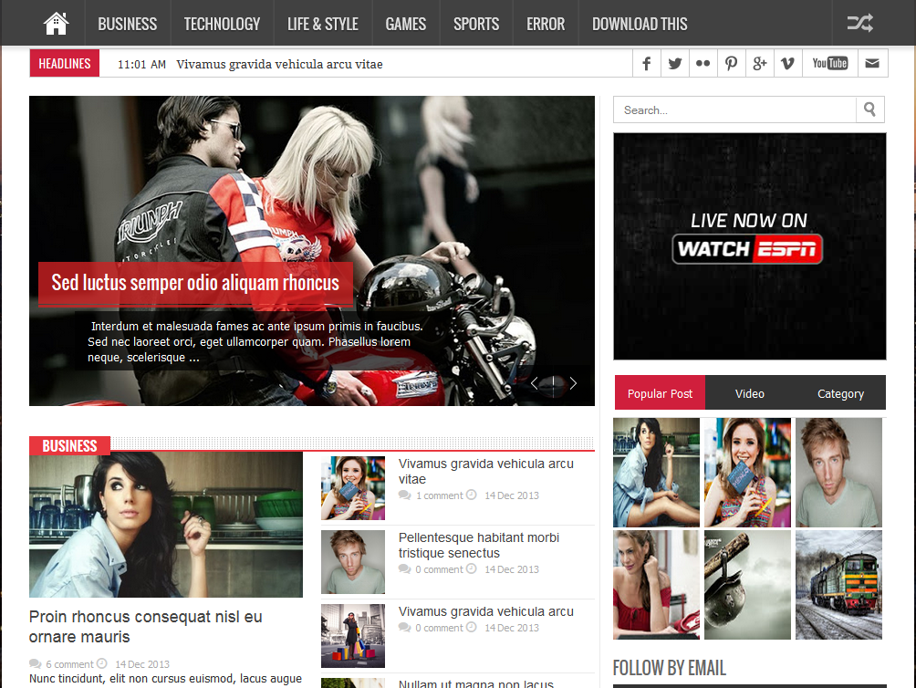Central of free blogspot template pronofoot35fo Gallery