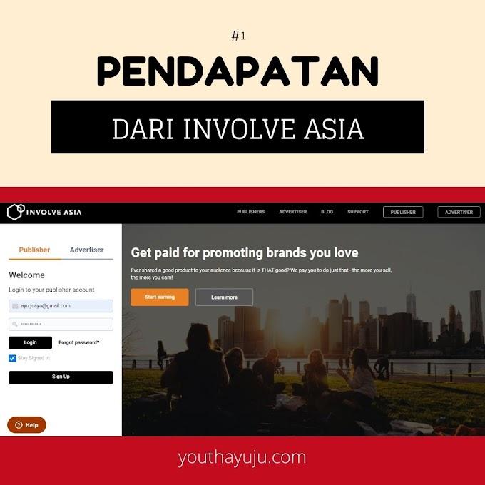 PENDAPATAN DARI INVOLVE ASIA #1