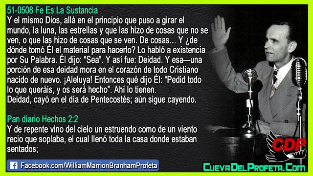 Deidad en Pentecostés - William Branham en Español
