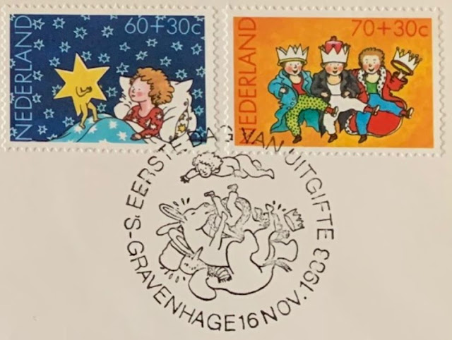 Kinderzegels 1983  FDC Cancellation