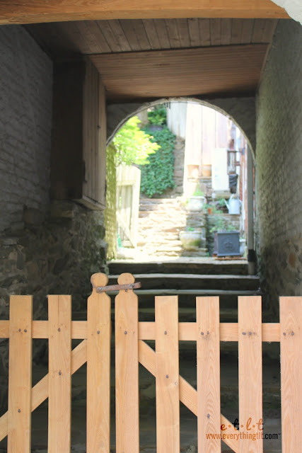 secret passageway Waterford Virginia