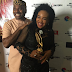 Actor Kenneth Okonkwo decorates wife 'wife of the year' with his award (Photos)