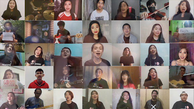 """UE Jam Sessions' """"Lalaban Tayo,"""" out now on digital platforms worldwide!"""