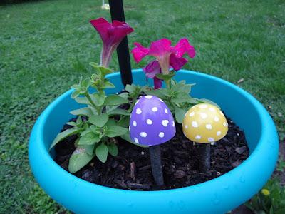 Mushroom Easter Eggs