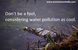 Slogans on Water Pollution