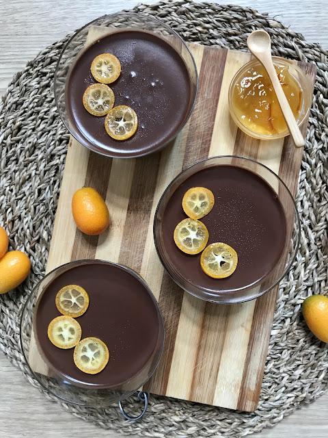 CREMA DE CHOCOLATE Y NARANJA. ¡Postre Fácil en 10 minutos!