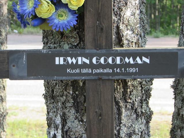Irwin Goodman Kuolema