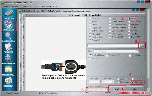 [Hướng dẫn] sử dụng Piranha Tool để flash file BIN
