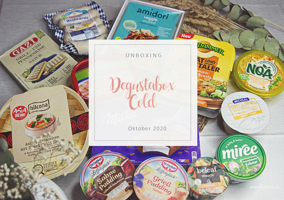 Degusta Box Cold - Oktober 2020 - unboxing
