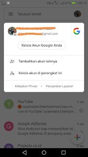Cara Membuka Email YahooDari Aplikasi Gmail diAndroid