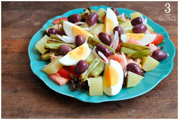 receita salada niçoise