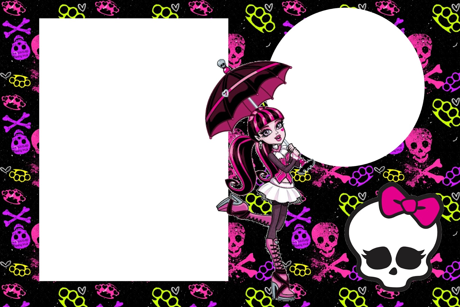 Exelent Monster High Printable Party Invitations Inspiration ...