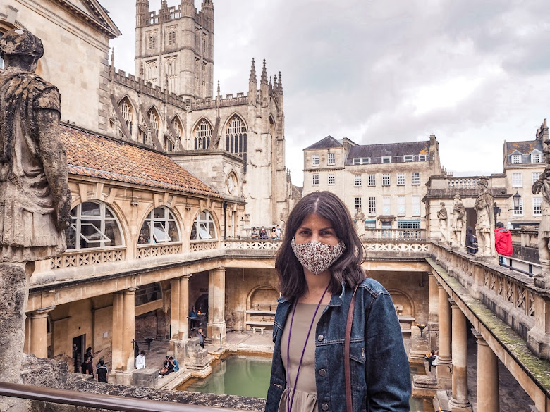 A visit to Roman baths, Bath- safety measures