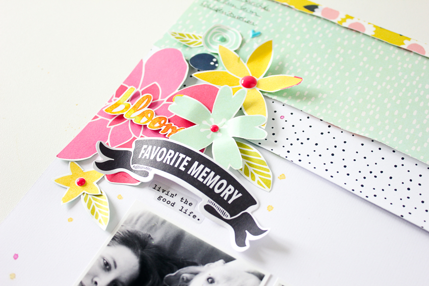 Scrapbooking Layout mit Hip Kit Club | Janna Werner