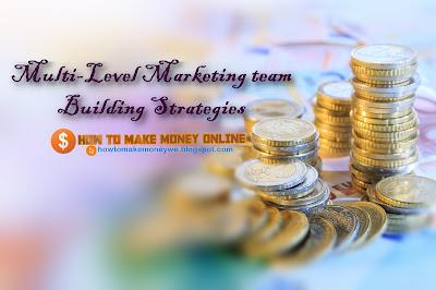 Multi Level Marketing team Building