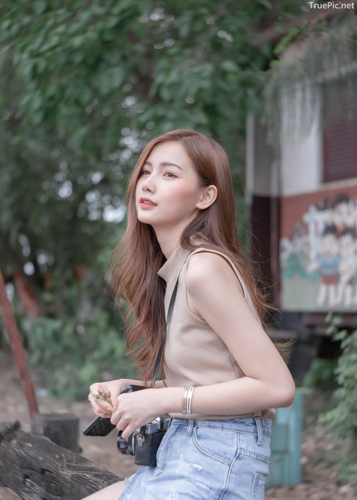 Thailand beautiful model - Pla Kewalin Udomaksorn - A beautiful morning with a cute girl - Picture 1