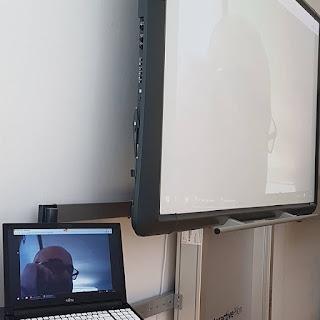 Leseförderung in der Grundschule: Briefe an den Autor, Treffen per Videochat