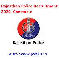Rajasthan Police Recruitment, Constable