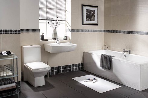 Fresh Sensation Of Bathrooms Interior Design