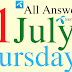 Telenor Quiz Today | 01 July 2021 | My Telenor App Today Questions and Answers | Test your Skills