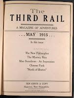 "An issue of ""The Third Rail."""