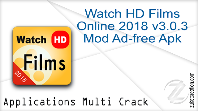 Watch HD Films Online 2018 v3.0.3 Mod Ad-free Apk