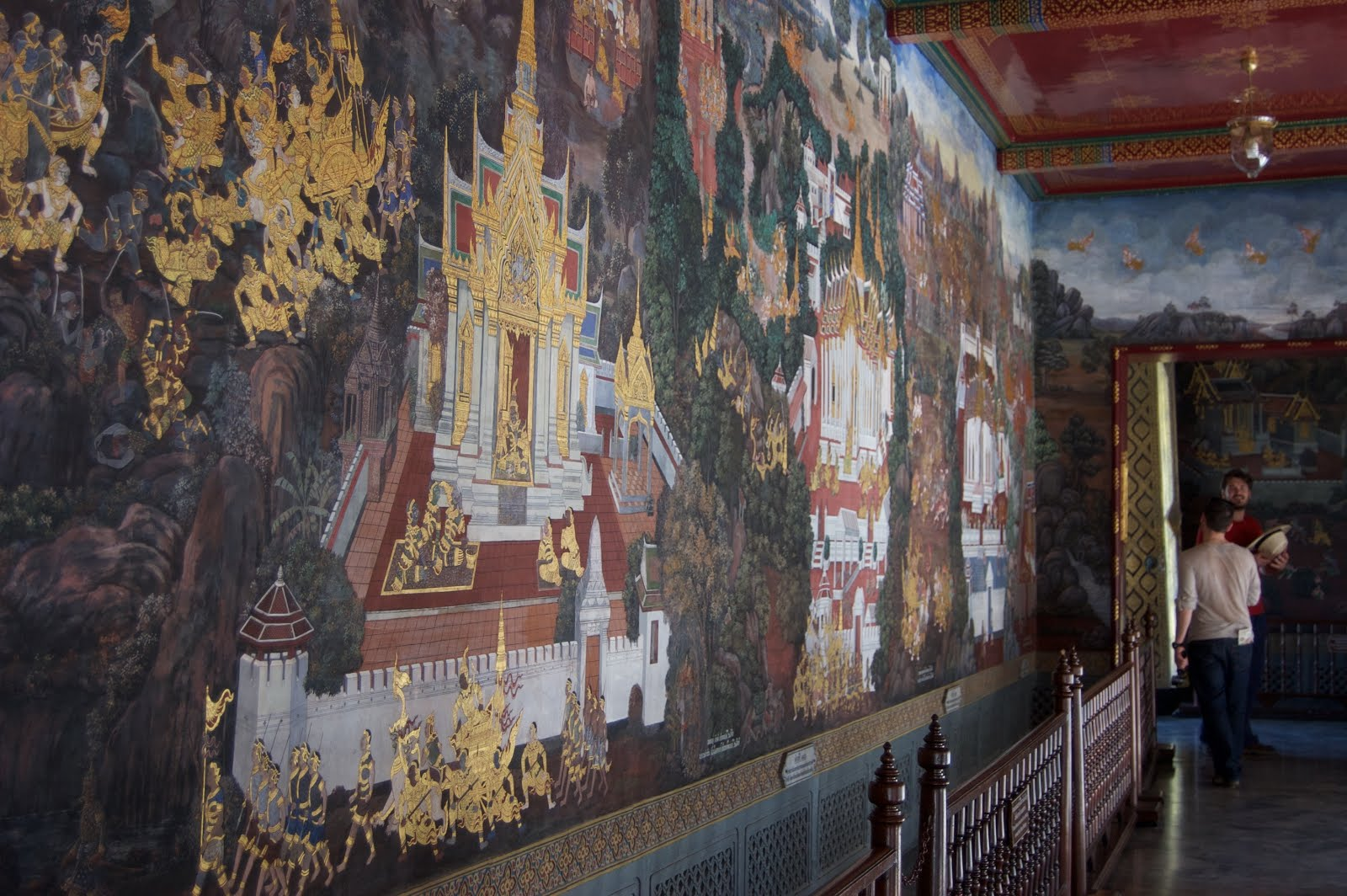 Scenes from the Grand Palace