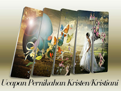 ucapan pernikahan kristiani kristen