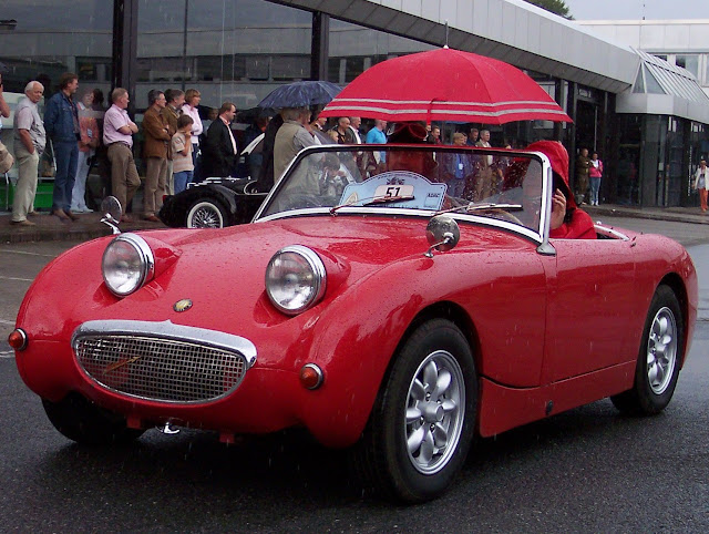 Austin-Healey Sprite Mk1 1950s British classic sports car
