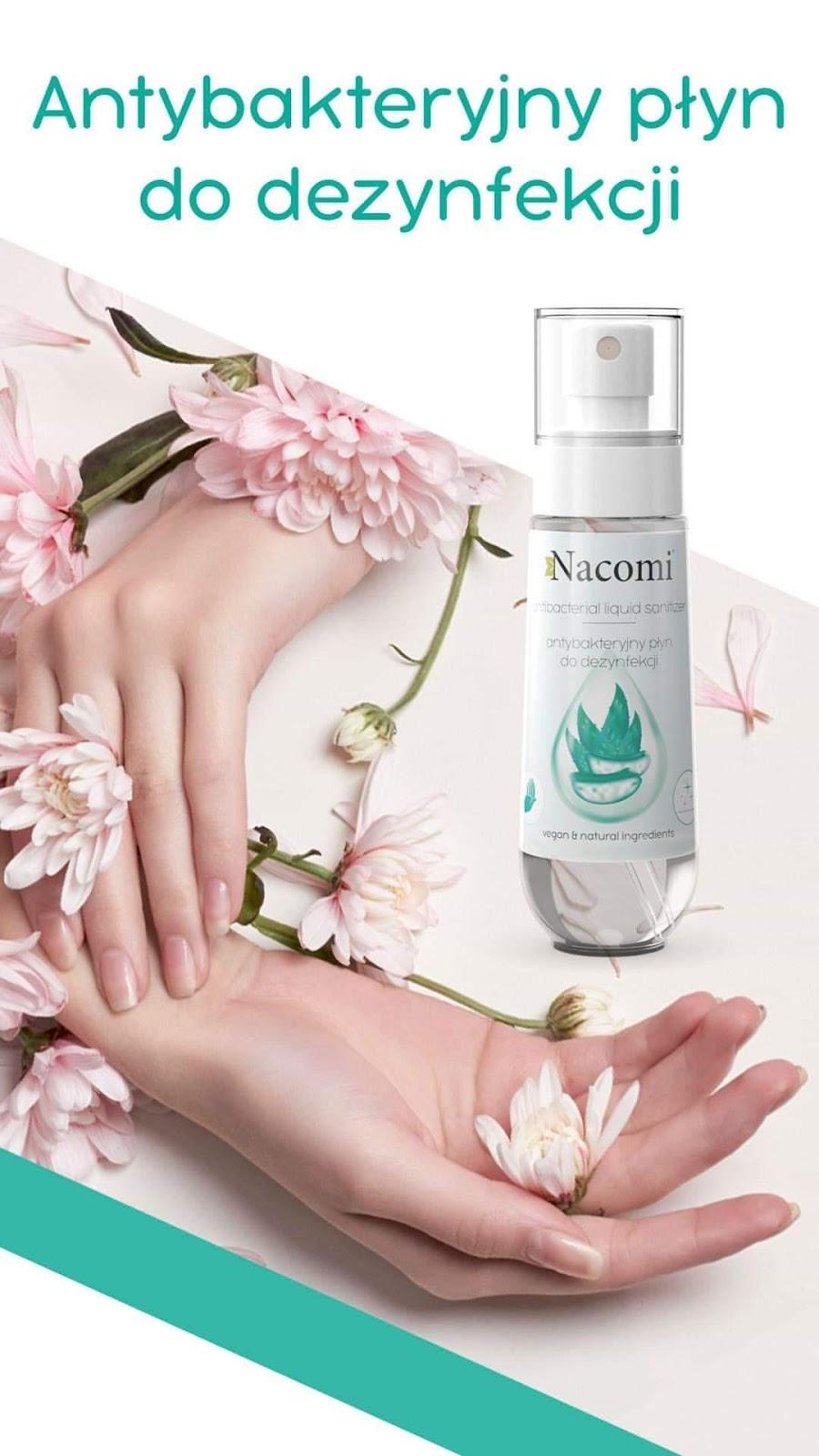 Nacomi - antybakteryjny płyn do dezynfekcji