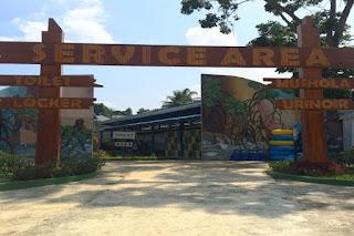 service area santasea waterpark