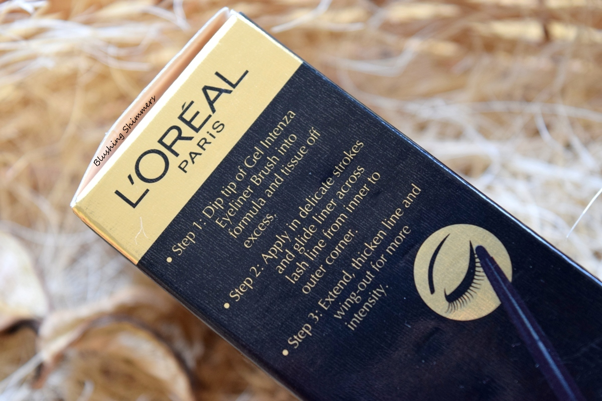 Loreal Super Liner Gel Intenza  black