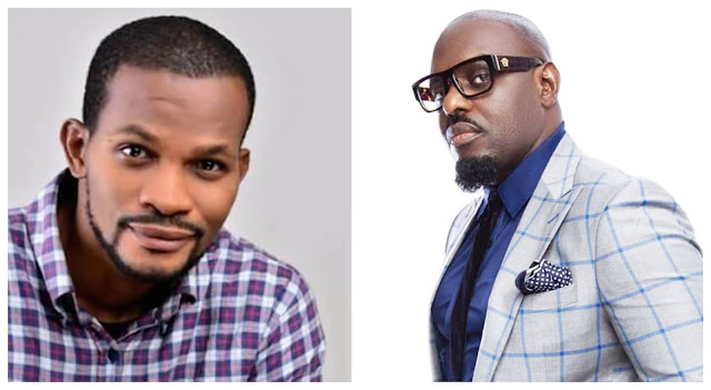 Moment Jim Iyke beats Uche Maduagwu days after he questioned him about the source of his wealth (Video)