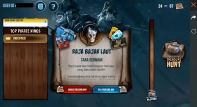Elite Pass berikutnya yang akan hadir bertema bajak laut Ghost Pirate FF    Cara Mendapatkan Elite Pass Ghost Pirate Gratis