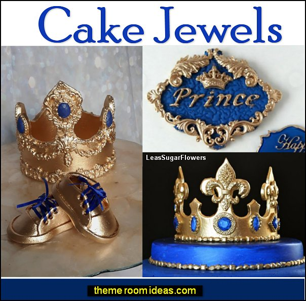 cake jewels cake decorations little prince party decorations king party decorations