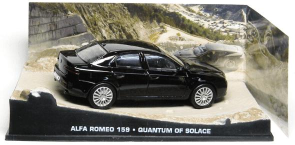 Alfa Romeo 159 Quantum of solace 1:43