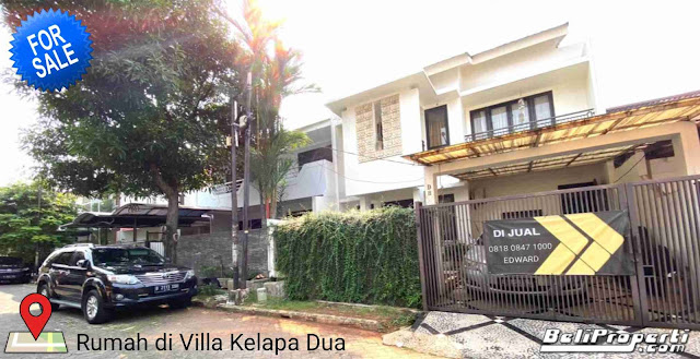 rumah dijual di villa kelapa dua