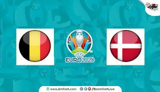 مباراة بلجيكا و الدنمارك بث مباشر