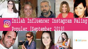 Inilah Influencer Instagram Paling Populer [September 2019] 1