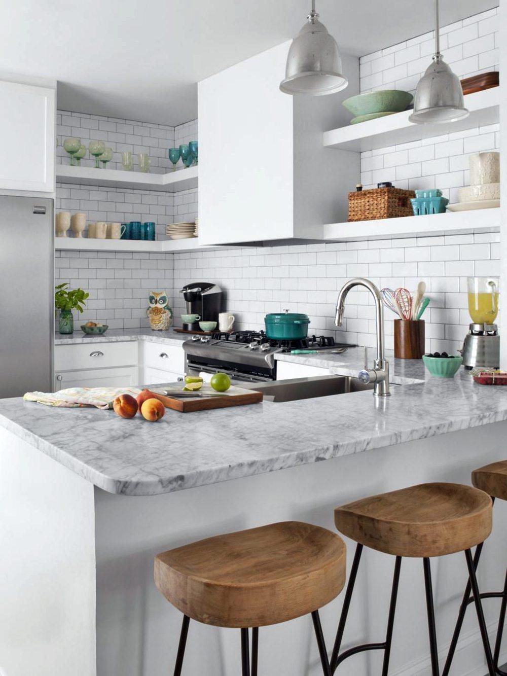 7 Modern Small White Kitchen Design Ideas   Dream House