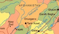 Peta Afganistan