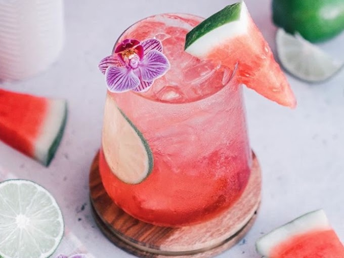 Gin Watermelon Crush Cocktail
