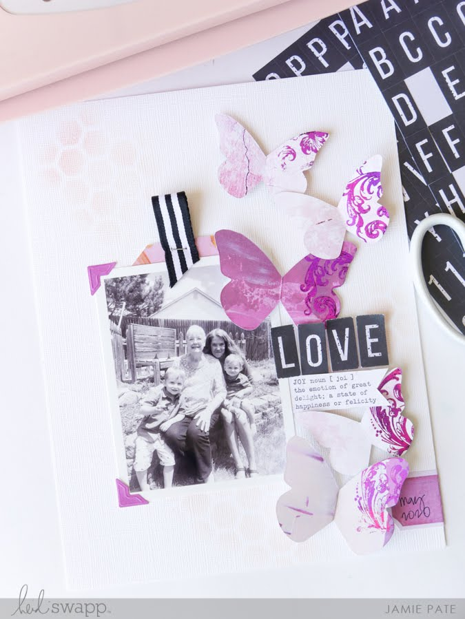 How To Foil Embellish Die Cuts by Jamie Pate
