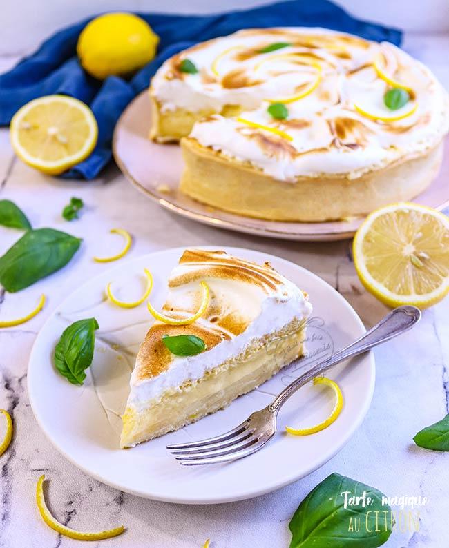 tarte au citron magique